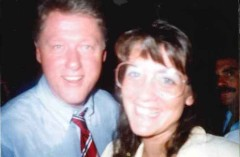 President Clinton and Donna
